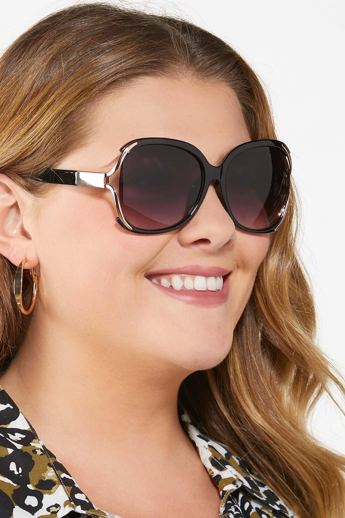 Vented Black Sunglasses (Item #44810252)