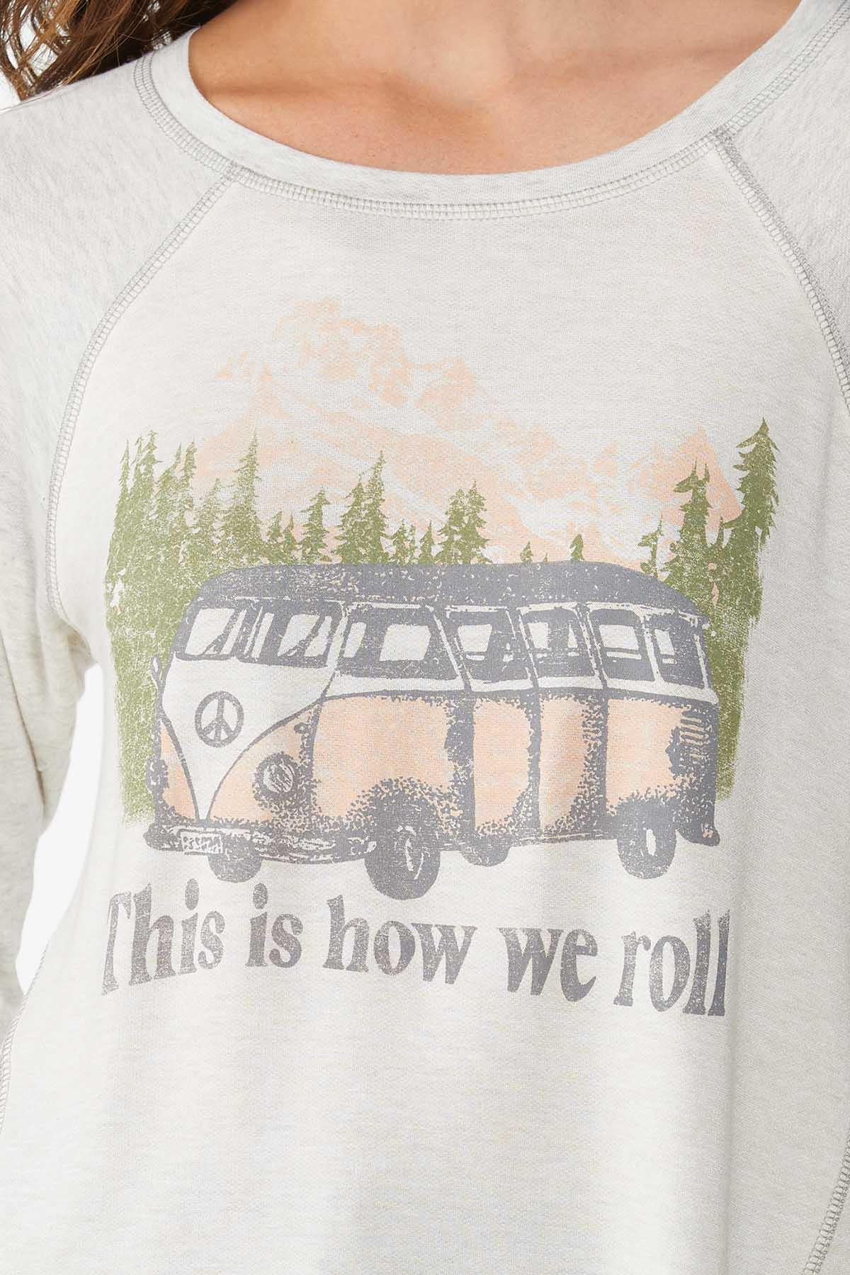 Plus Size How We Roll Graphic Tee (Item #44817563)