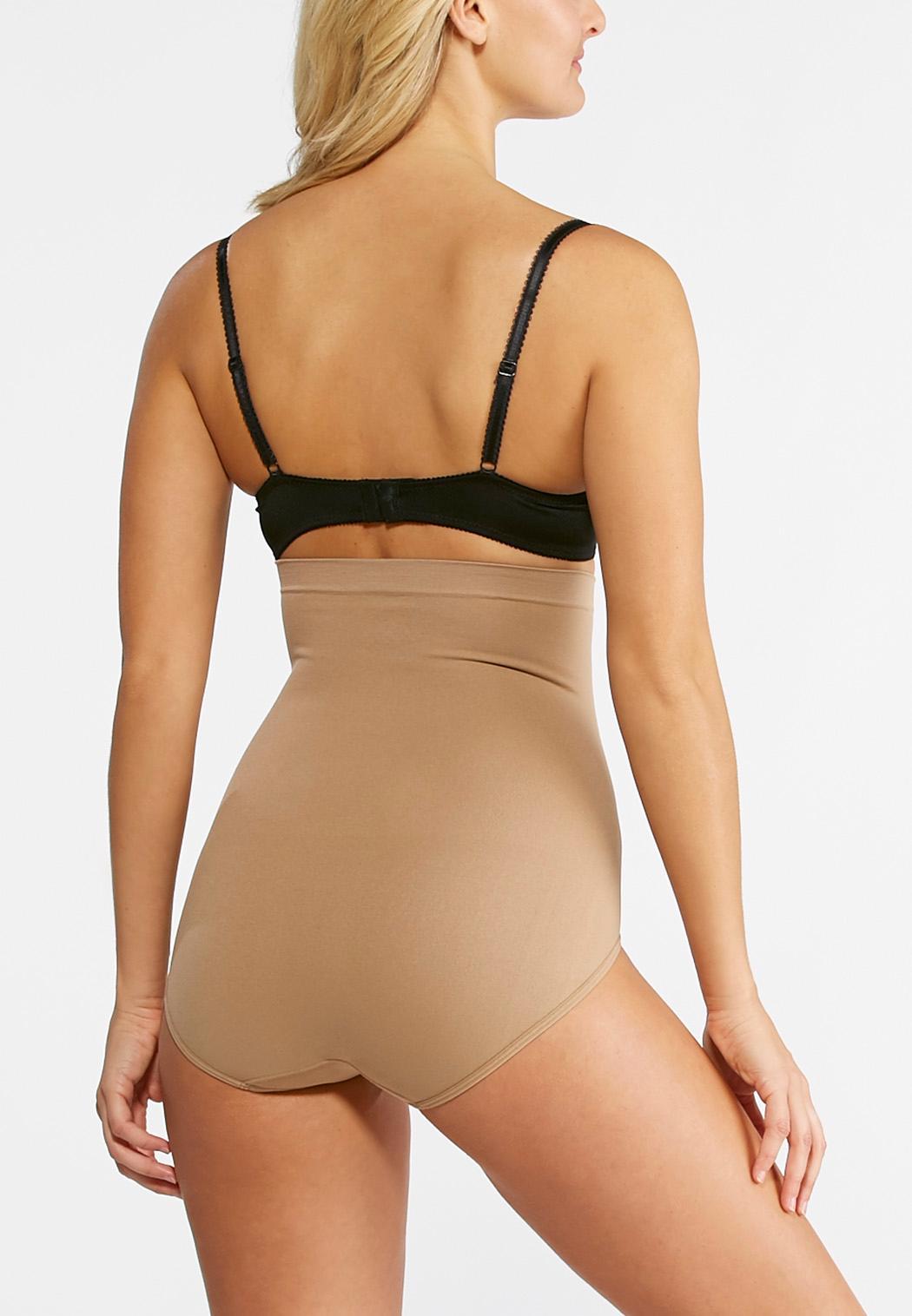 2aff6593d0c6 Nude High Waist Seamless Panties Intimates Cato Fashions