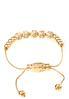 Pave Ball Beaded Pull String Bracelet alternate view