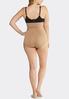 Plus Size Nude High Waist Seamless Panties alternate view