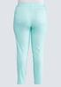 Plus Size Colored Jeggings alternate view