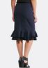 Ruffled Pull- On Skirt alternate view