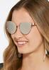 Rose Gold Metal Cateye Sunglasses alternate view