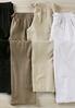 Drawstring Linen Pants- Plus alternate view