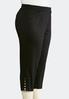 Shape Enhancing Tailored Crop Pants- Plus alternate view