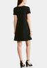 Plus Size Crepe Jersey Swing Dress alternate view