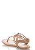 Embellished Stretch Slingback Sandals alternate view