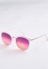 Sunset Tint Round Sunglasses alternate view