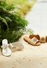 Embellished Woven Slide Sandals alternate view