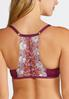 Plus Size Embroidered Lace Bra Set alternate view