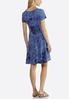 Plus Size Sequin Ribbon Embellished Dress alternate view
