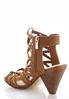 Wide Width Stretch Strap Cutout Shooties alternate view