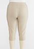 Plus Size Pull- On Tulip Hem Pants alternate view