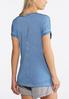 Plus Size Faded Number Athleisure Tee alternate view