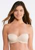 Lace Trim Solid Convertible Bra alternate view