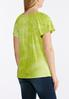 Plus Size Embellished Lime Top alternate view