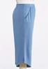 Plus Size Cropped French Terry Pants alternate view