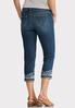 Cropped Turn- Up Hem Jeans alternate view