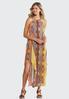 Plus Petite Flyaway Printed Maxi Dress alternate view