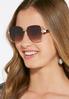 Cutout Frame Square Sunglasses alternate view