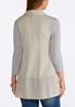 Plus Size Lightweight Knit Vest alternate view