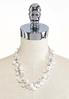 Rondelle Pearl Beaded Necklace alternate view