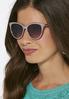 Purple Cateye Sunglasses alternate view