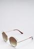 Wire Cateye Sunglasses alternate view
