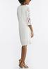 Embroidered Gauze Swing Dress alternate view