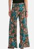 Teal Paisley Palazzo Pants alternate view