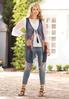 Plus Size Medium Wash Skinny Ankle Jeans alternate view