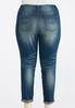 Plus Size Authentic Girlfriend Ankle Jeans alternate view