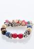 Multi Shaky Bead Stretch Bracelet alternate view