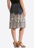Lace Puff Print Skirt alternate view