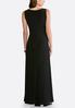 Plus Petite Embellished Stretch Maxi Dress alternate view