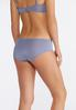 Embroidered Blue Ivory Panty Set alternate view