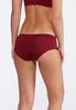Plus Size Laced Sides Hipster Panty Set alternate view