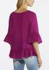Festival Fuchsia Peasant Top alternate view
