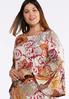 Plus Size Smocked Bell Sleeve Dress alternate view