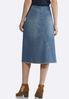 Frayed Vintage Denim Skirt alternate view