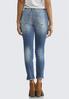 Distressed Step Hem Jeans alternate view