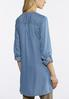 Plus Size Embroidered Chambray Tunic alternate view