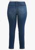 Plus Petite Distressed Shape Enhancing Jeans alternate view