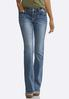 Petite Western Inspired Bootcut Jeans alternate view