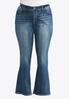 Plus Petite Western Inspired Bootcut Jeans alternate view