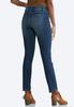 Petite Distressed Shape Enhancing Jeans alternate view