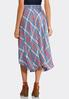 Plaid Pull- On Midi Skirt alternate view