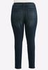 Plus Size Curvy Rinse Wash Skinny Jeans alternate view