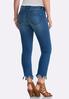Frayed Hem Ankle Jeans alternate view